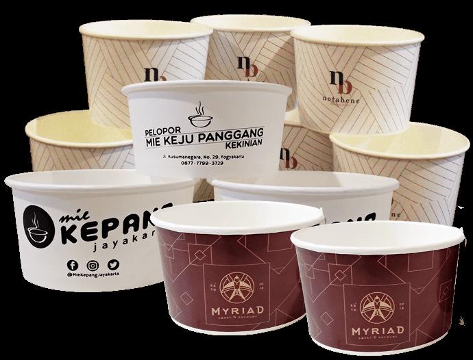 Paper Bowl Toko Plastik Jual Packaging Kemasan Makanan Minuman