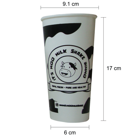 cold cup paper 22 oz