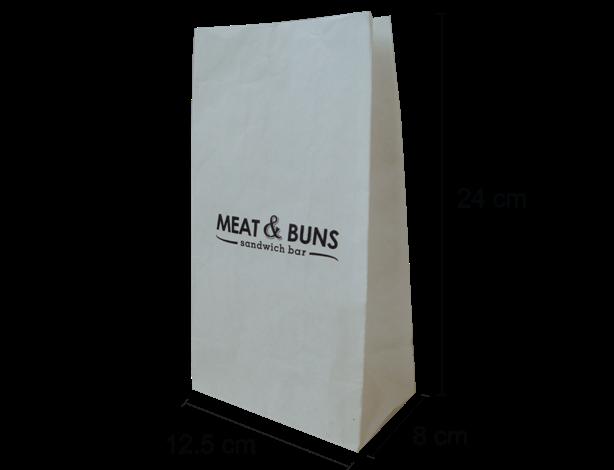 paper bag anti minyak 12.5x8x24