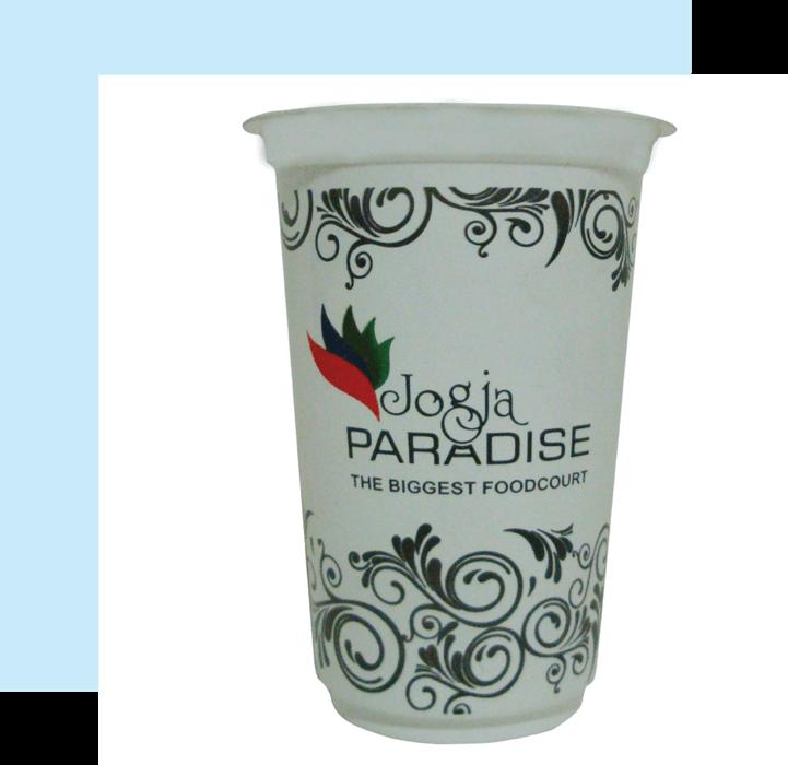 plastic cup putih KJPPACK