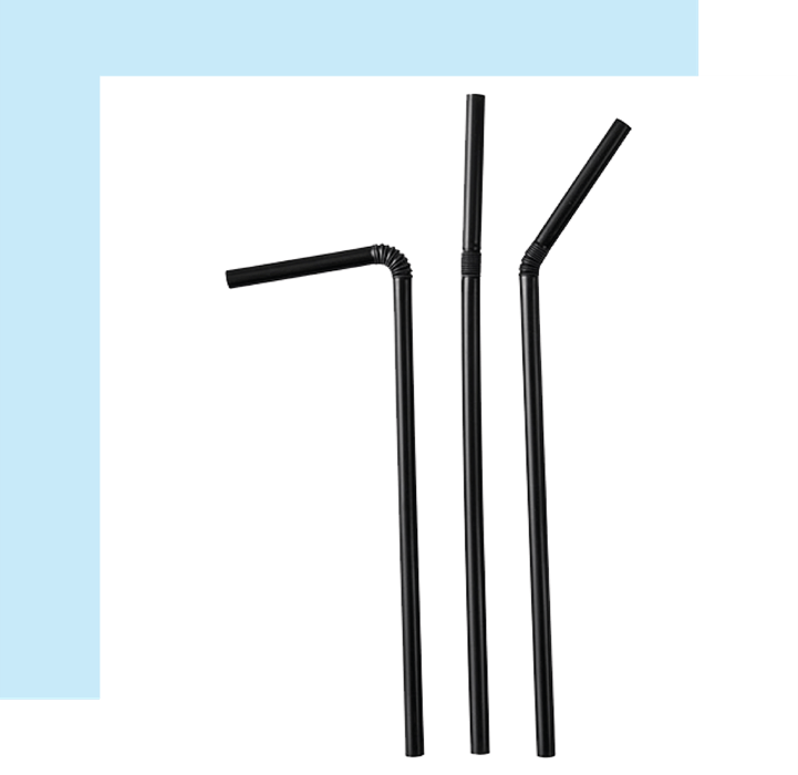 sedotan fleksibel